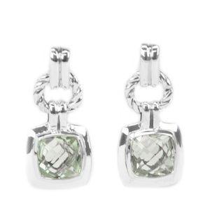 David Yurman Renaissance Drop Earrings Prasiolite